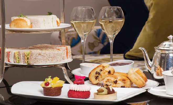 Champagne afternoon tea at The Balmoral for £35