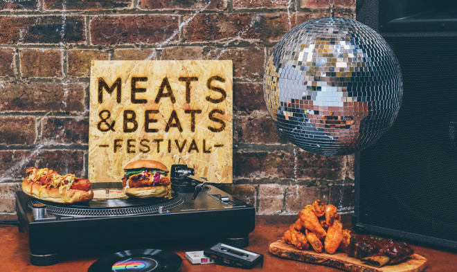 Win a pair of tickets to Meats & Beats Festival