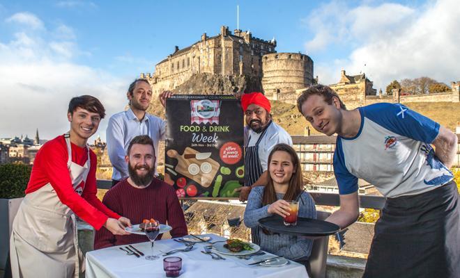 Food and Drink Week at Edinburgh's Grassmarket