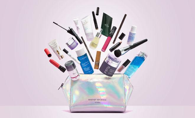 Win a Harvey Nichols Limited Edition Beauty Bag and Treatments