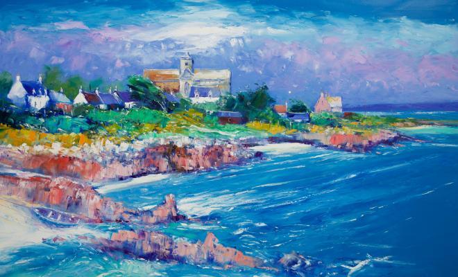 JoLoMo Painting Windy Day Iona