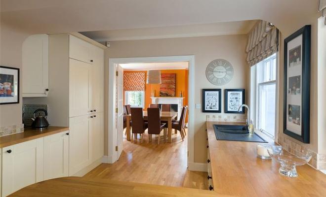 Inside Judy Murray's home