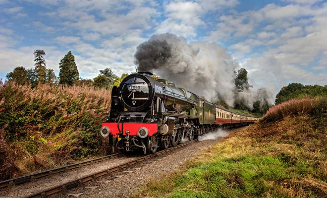 ScotRail's steam train experience