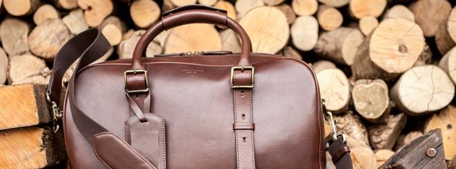 Win a luxury weekend bag by Aspinal of London