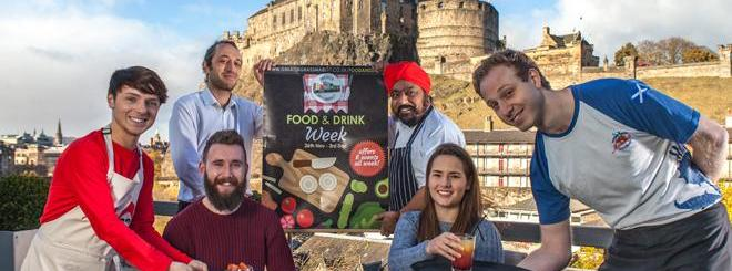 Win a meal for two in the Grassmarket
