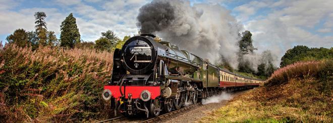 ScotRail's steam train experience