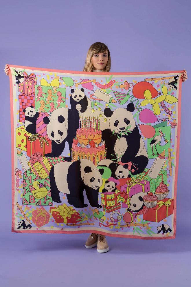 Karen Mabon Panda Bears