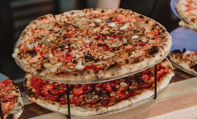 Pizza at Civerinos Slice Edinburgh