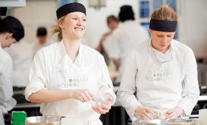 Christmas Canapes with Barry Bryson at The Edinburgh New Town Cookery School