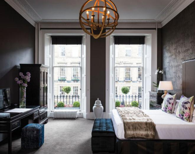 Home from home: Hotels in Edinburgh