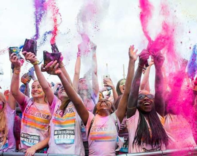 Tickets on sale now for The Color Run