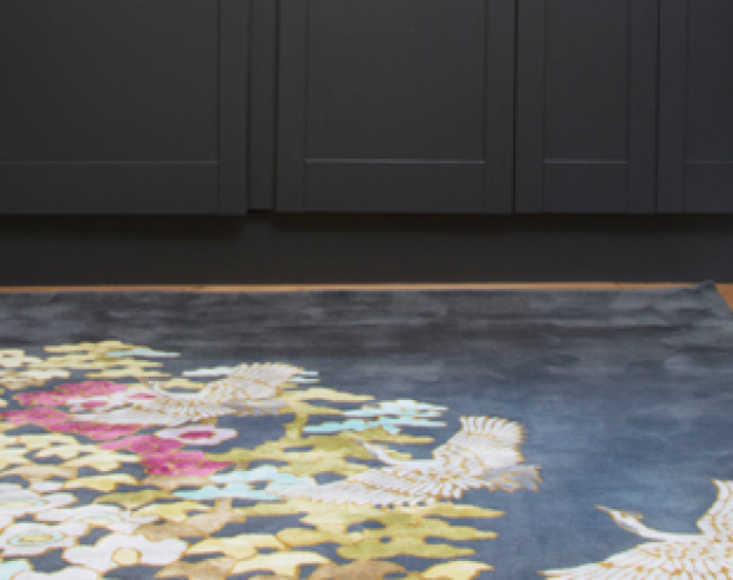 Win a Wendy Morrison design hand-stitched rug