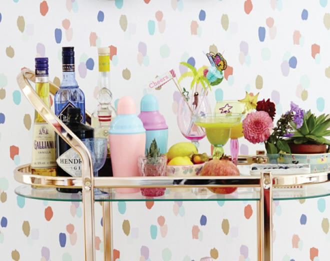 How to create a Pinterest perfect home bar