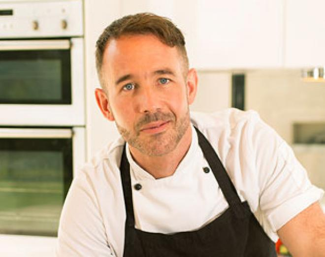Barry Bryson at Edinburgh New Town Cookery School
