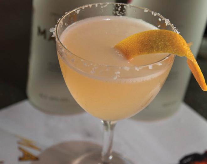The award-winning 56 Degrees Martini Cocktail recipe
