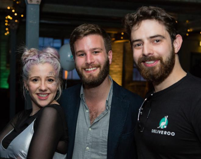 Deliveroo turns one