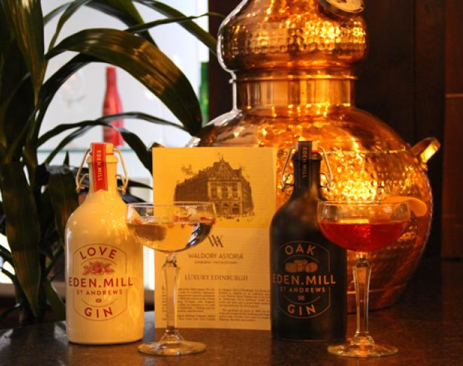 Gin House at the Caley Bar, the new destination bar for gin lovers