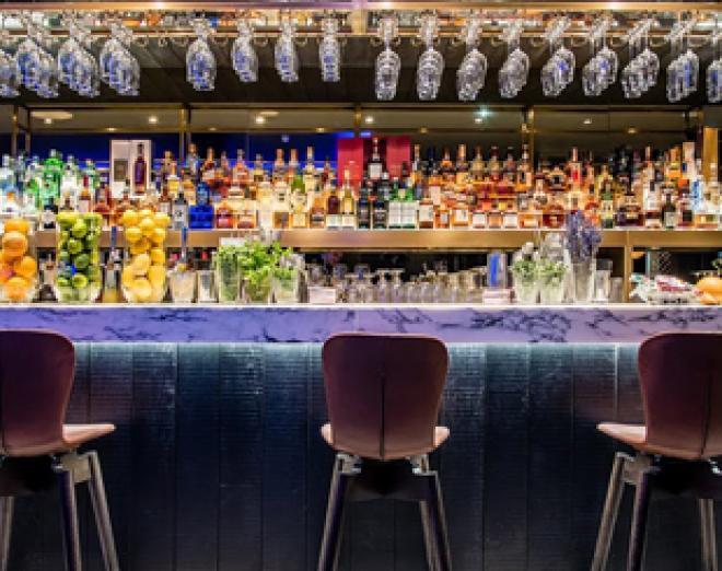 Take a look inside Edinburgh's newest cocktail bar, Epicurean