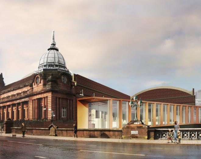 The Kelvin Hall Glasgow Club super gym