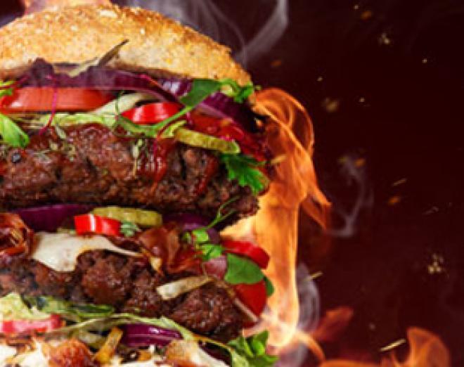 Take the challenge: Man versus food