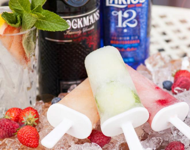 Gin ice lolly recipes