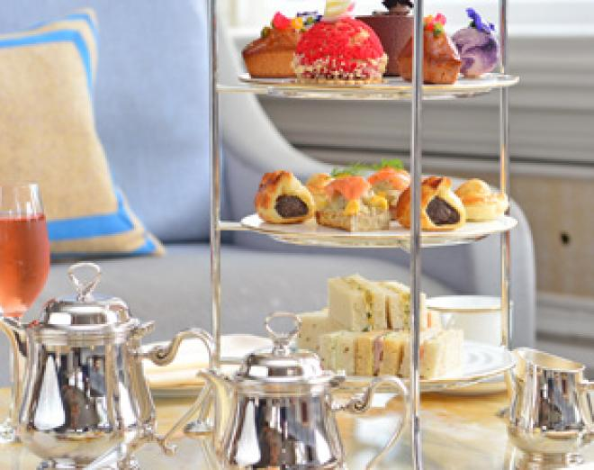 Afternoon tea at Gleneagles