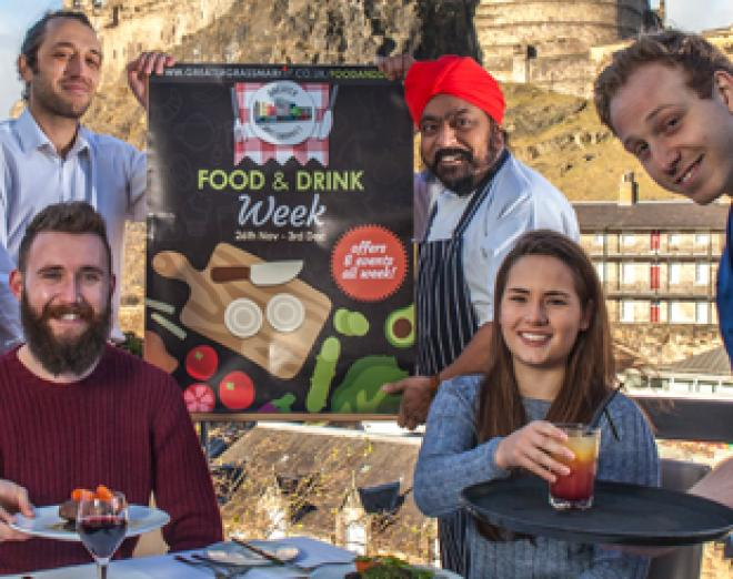 Food and Drink Week at Edinburgh's Grassmarket