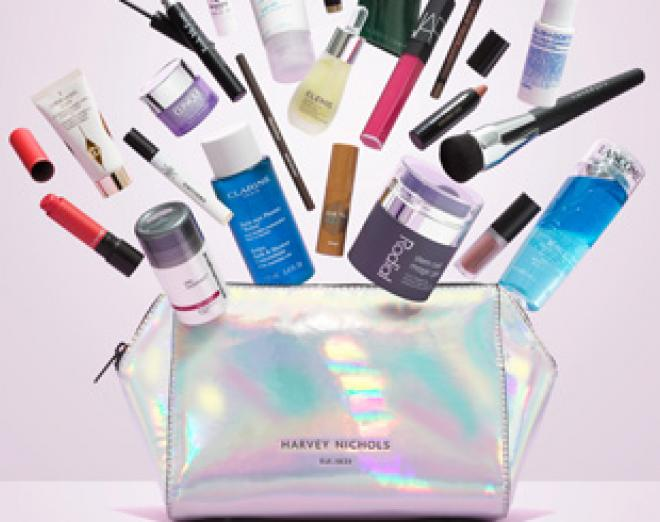 Free luxury beauty essentials worth over £400 at Harvey Nichols