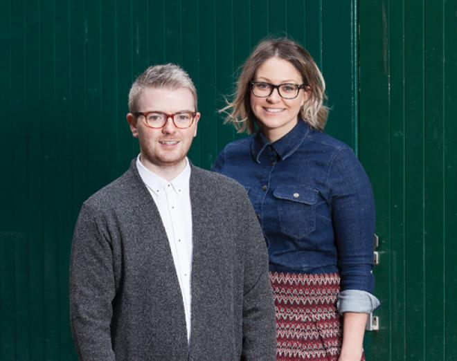 It takes two: Gary Anderson and Laura Russell