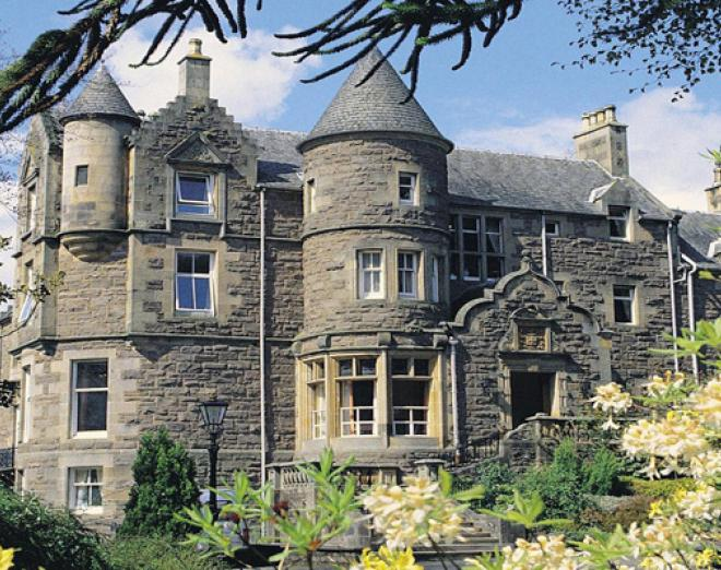 Win a luxury break for two at Knock Castle Hotel and Spa