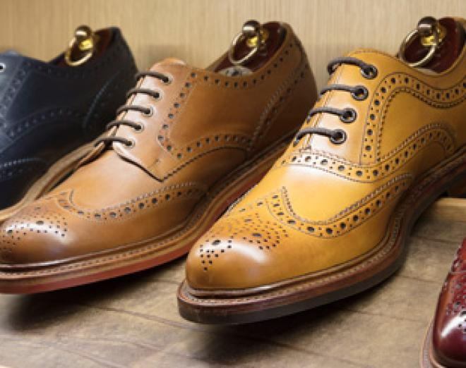 Win a pair of Loake brogues worth over £200