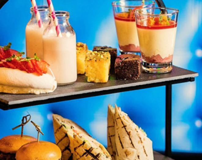 Afternoon tea with benefits at Malmaison