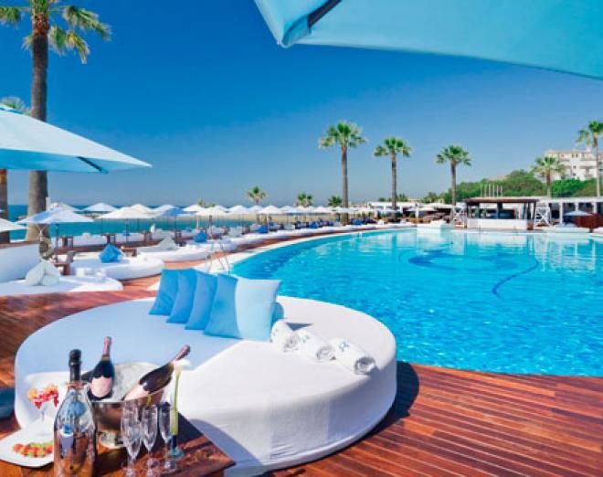 Poolside Marbella