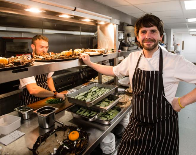 Up close with Chef Colin Fleming of Printing Press Bar & Kitchen