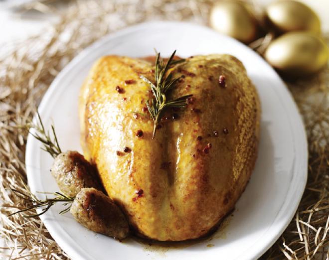 A healthy Christmas feast