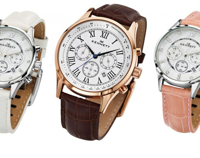 Win his and her watches from Kennett