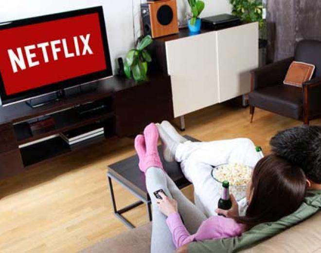 Top 10 Netflix series binges