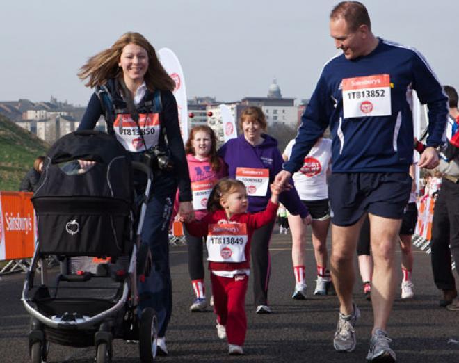 The Edinburgh Sport Relief Mile