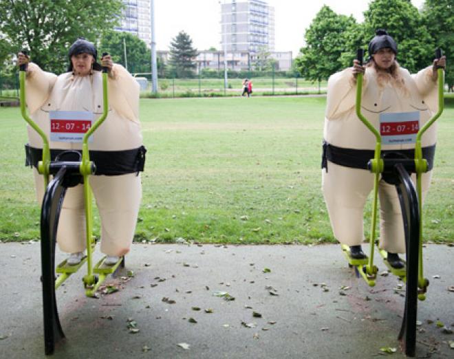 Edinburgh's first Sumo Run